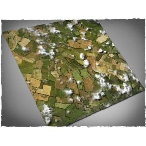 Game mat - Aerial Fields - PVC 120x120
