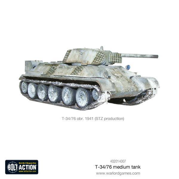 Bolt Action - T34/76 Medium Tank