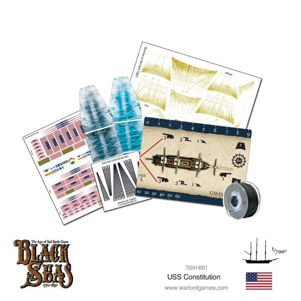 Black Seas - USS Constitution