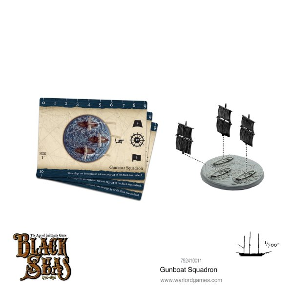 Black Seas - Gunboat Squadron