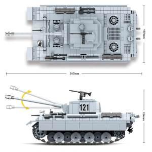 Panzer V Panther - 990 pièces