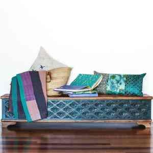Carved Blanket Box