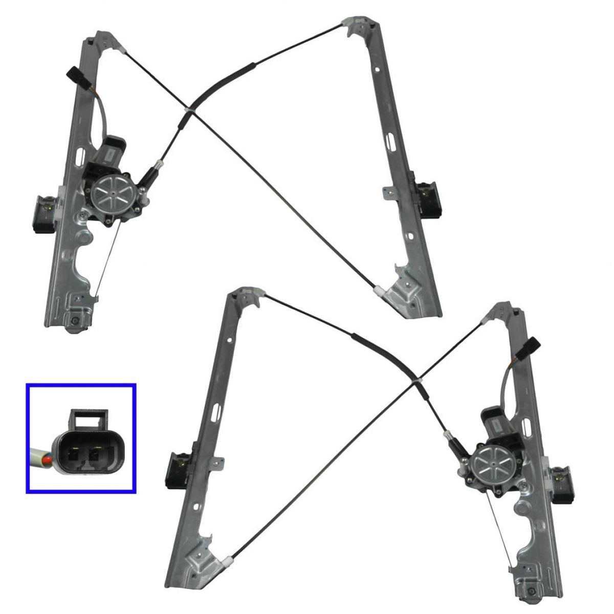 Chevy Silverado Window Regulator At Monster Auto Parts