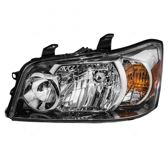 Toyota Highlander Hybrid Headlamp Assembly Parts Diagram