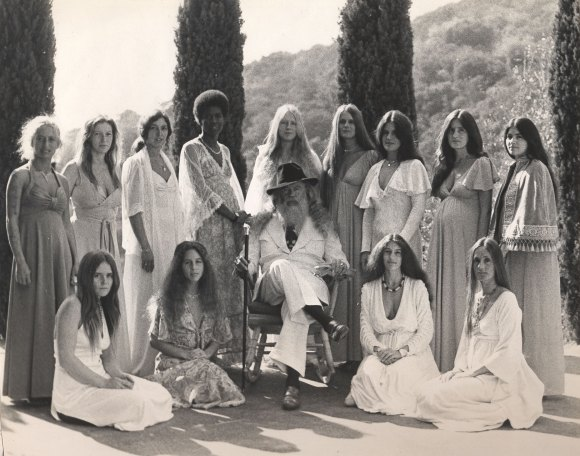 Father Yod and his 13 wives, Los Angles, 1973 Photo courtesy Isis Aquarian archives