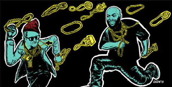 Run The Jewels poster by Nick Gazin