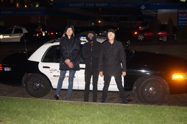 death grips masks cop cars