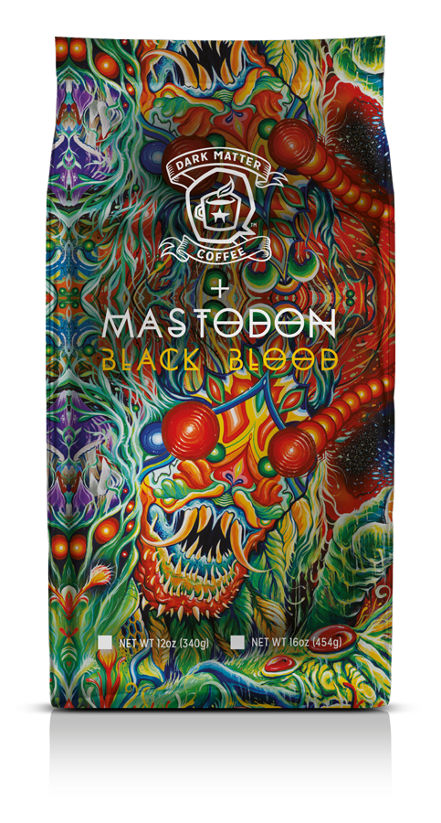mastadon coffee black blood