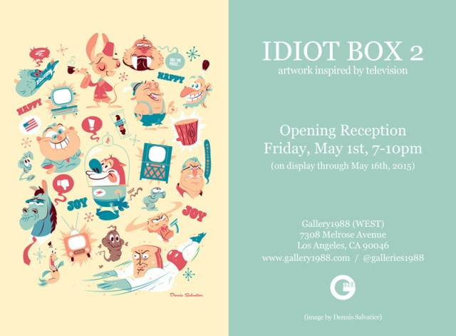 idiot box flyer