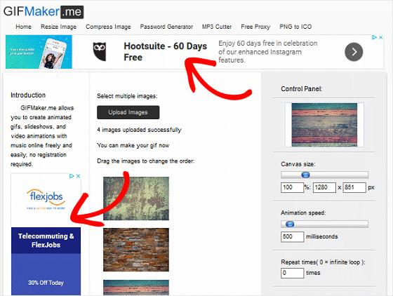 Google AdSense Online Tool Example