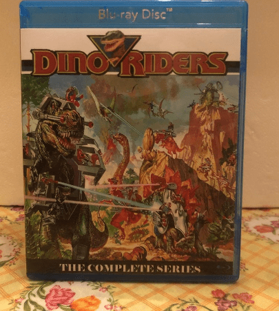 Dino Riders 1988 the Complete Series all 14 episodes on Blu-ray