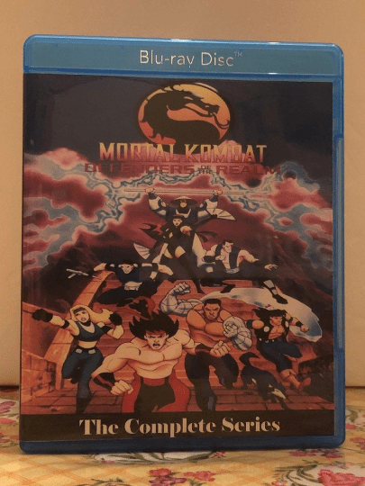 Mortal Kombat Defenders of the Realm the Animated Series Complete Series on Blu-ray