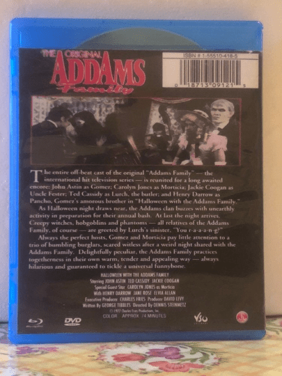 Halloween With The New Addams Family 1977 Blu-ray & DVD Combo Set