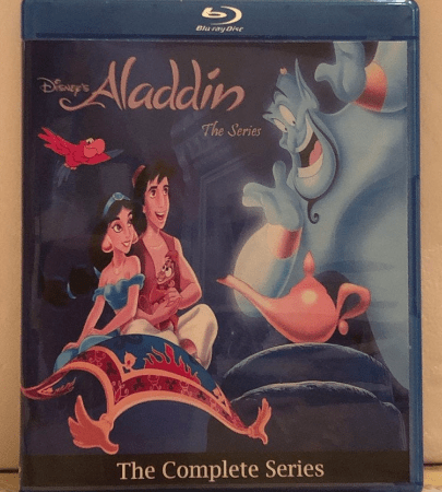 Disney's Aladdin the Series the Complete Series 3 Seasons with 86 Episodes on 4 Blu-ray Discs