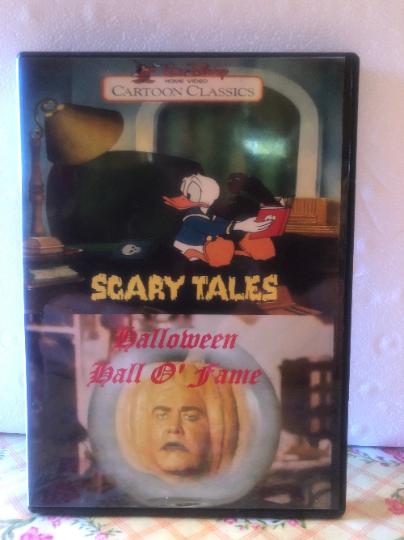 Disney Scary Tales TV Version & Halloween Hall O' Fame 2-DVD Set
