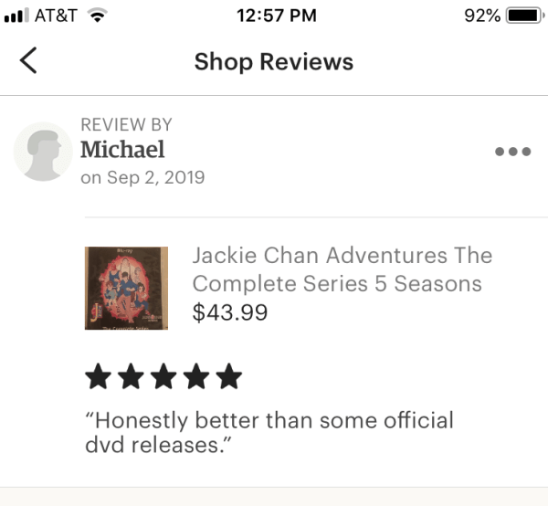 Jackie Chan Adventures The Complete Series 5 Seasons with 95 Episodes on 5 Blu-ray Discs