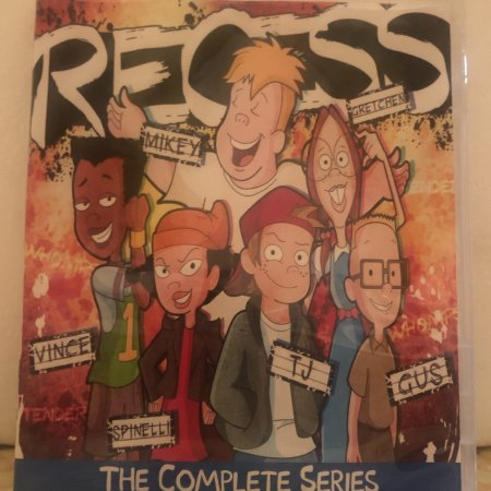 Disney Recess The Complete Series 6 Seasons 127 Episodes with 4 Specials plus Bonus Crossover Episode on 5 Blu-ray Discs