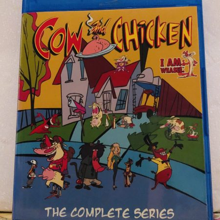 """Cow and Chicken The Complete Series 3 Seasons with 52 Episodes (131 Segments) plus includes the Complete Series of """"I am Weasel"""" on 4 Blu-ray Discs in 720p HD"""