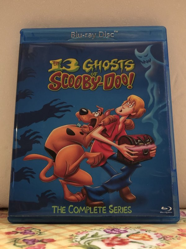 The 13 Ghosts of Scooby Doo The Complete Series 13 Episodes plus the movie on 2 Blu-ray Discs in 1080p HD