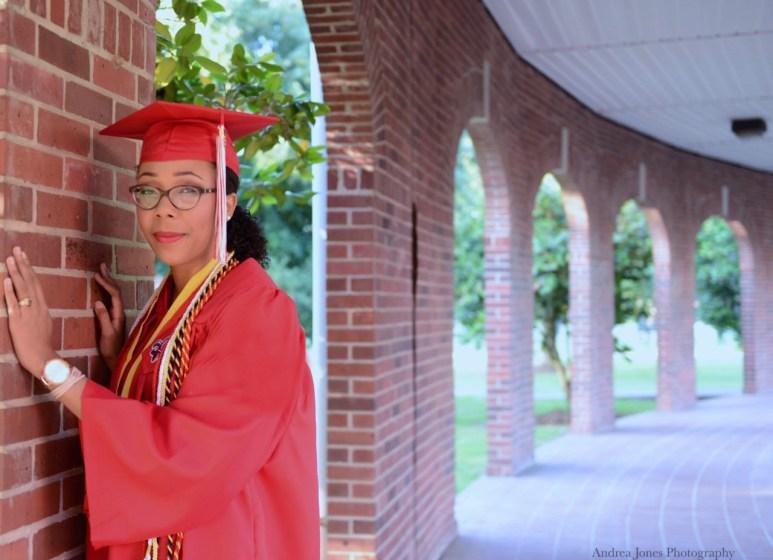 Bianca's graduation photo