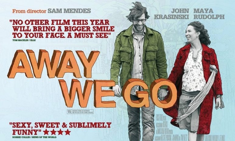 Movie poster for Away We Go