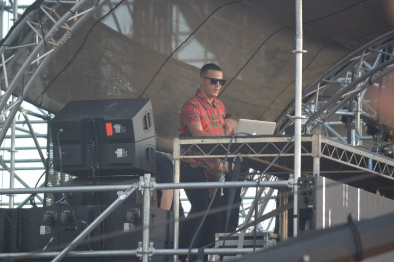 DJ Snake - Brian Anderson Monsters and Critics 2015 ©