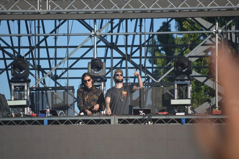 Zeds Dead - Brian Anderson Monsters and Critics 2015 ©