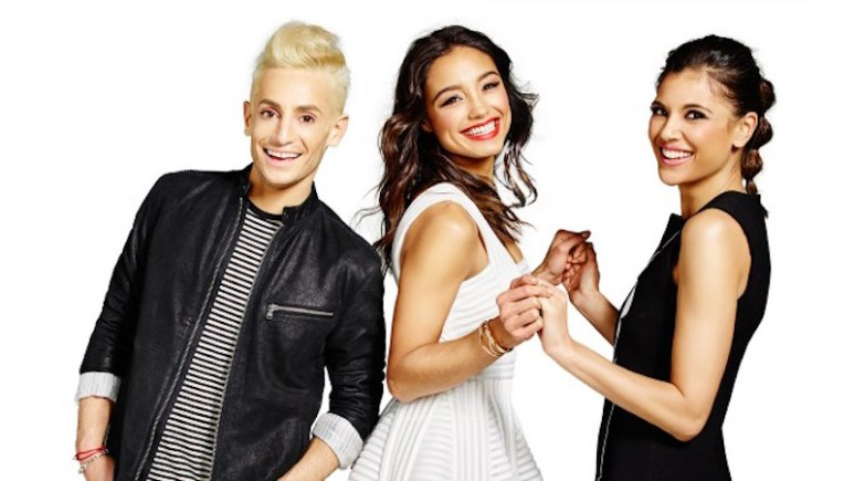 Style Code Live's hosts Frankie Grande, Rachel Smith and Lyndsey Rodrigues