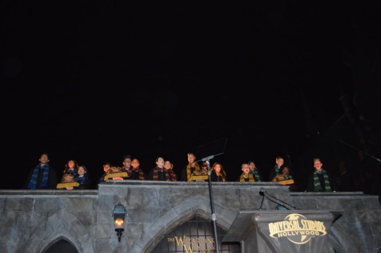 Hogwarts choir