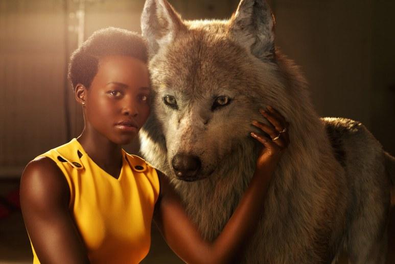 THE JUNGLE BOOK - Lupita Nyong'o with Raksha