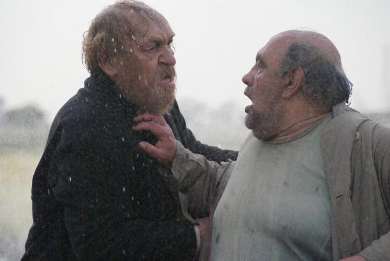 Left to Right: Mahmoud Nazar-Alian and Levon Haftvan in THE MAN WHO BECAME A HORSE (Iran, 2015) a.k.a. MARDI KE ASB SHOD, directed by Amir Hossein Saghafi.