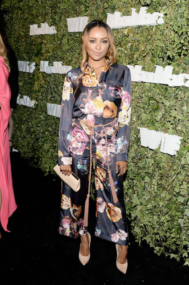 LOS ANGELES, CA - JUNE 14: Actress Kat Graham, wearing Max Mara, attends Max Mara Celebrates Natalie Dormer - The 2016 Women In Film Max Mara Face Of The Future at Chateau Marmont on June 14, 2016 in Los Angeles, California. (Photo by Stefanie Keenan/Getty Images for Max Mara)