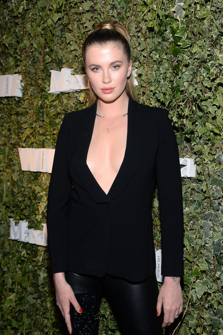LOS ANGELES, CA - JUNE 14: Model Ireland Baldwin, wearing Max Mara, attends Max Mara Celebrates Natalie Dormer - The 2016 Women In Film Max Mara Face Of The Future at Chateau Marmont on June 14, 2016 in Los Angeles, California. (Photo by Stefanie Keenan/Getty Images for Max Mara)