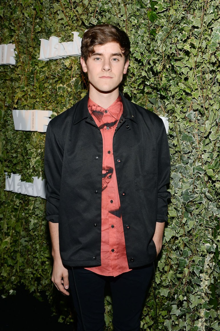 LOS ANGELES, CA - JUNE 14: Entrepreneur Connor Franta attends Max Mara Celebrates Natalie Dormer - The 2016 Women In Film Max Mara Face Of The Future at Chateau Marmont on June 14, 2016 in Los Angeles, California. (Photo by Stefanie Keenan/Getty Images for Max Mara)