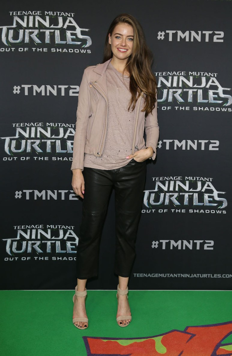 SYDNEY, AUSTRALIA - MAY 29: April Rose Pengilly arrives ahead of the Australian premiere of Teenage Mutant Ninja Turtles 2 at Event Cinemas George Street on May 29, 2016 in Sydney, Australia. (Photo by Caroline McCredie/Getty Images for Paramount Pictures) *** Local Caption *** April Rose Pengilly
