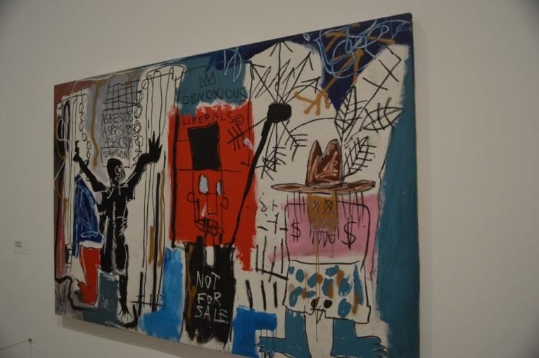 """Obnoxious Liberals"" by Jean-Michel Basquiat - Kieran MacIntyre - Monsters & Critics 2016 ©"