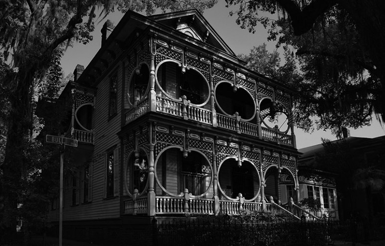 Gingerbread House in Savannah.