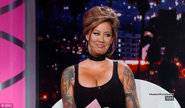 Amber Rose looking very glam