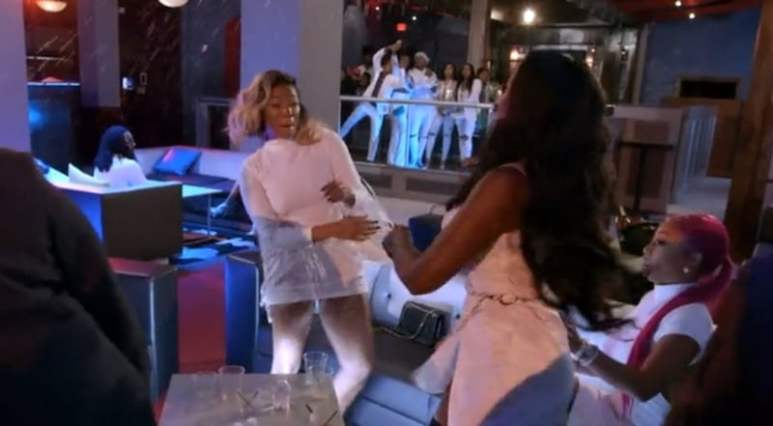 Tommie and Tiarra's fight on Love & Hip Hop Atlanta