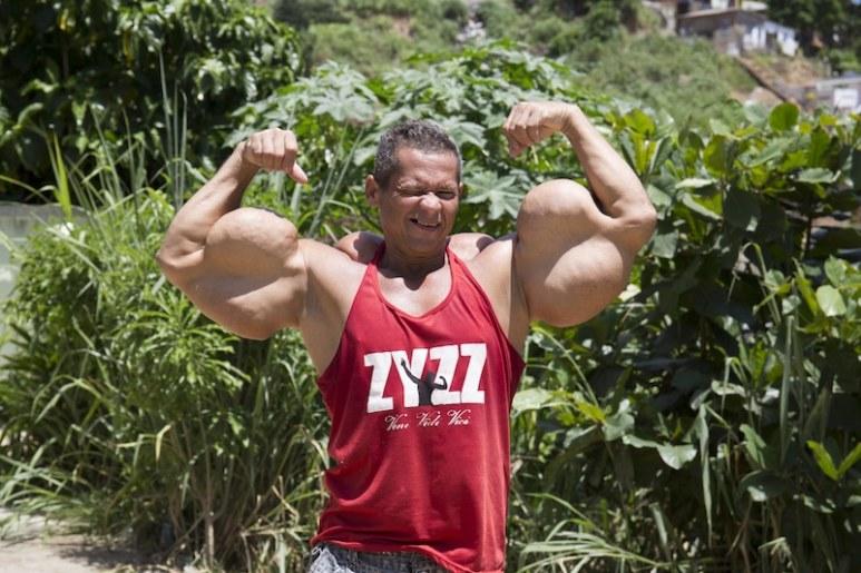 Arlindo Jordão de Souza posing.