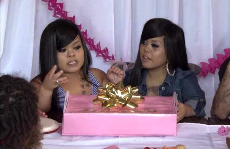 Amanda & Andrea Salinas reveal party on Little Women: Atlanta