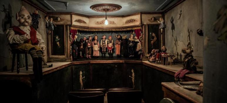 The Haunted Museum has many strange objects