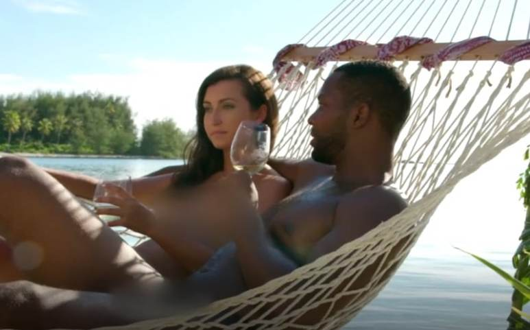 David and Natalie have an intimate chat on this week's season finale of Dating Naked