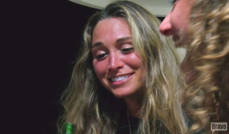 Kelsey, Kelley's love interest on this week's Below Deck episode