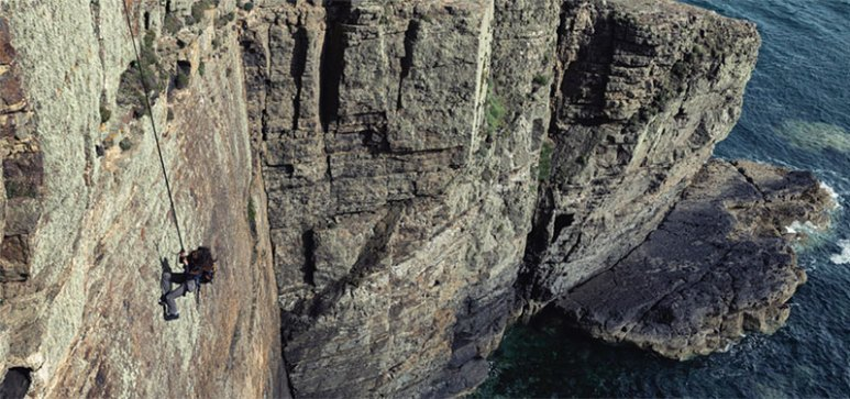 Mel B cliff
