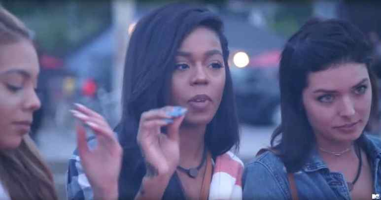 Tyara leads the bonfire ceremony to unite the group on tonight's Real World Seattle: Bad Blood