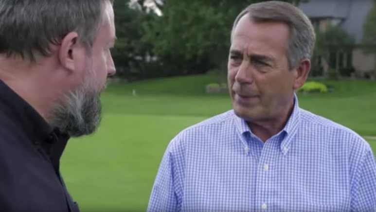 Former House Speaker John Boehner talks to Shane Smith on VICE News Tonight