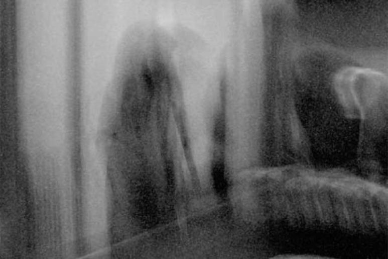 A photo reportedly to be be a ghost in the mansion