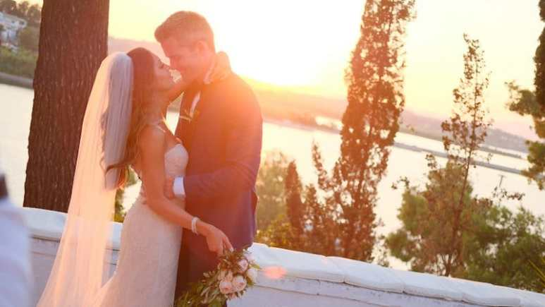 Ryan and Emilia tie the knot in a stunning wedding ceremony on the Million Dollar Listing New York special