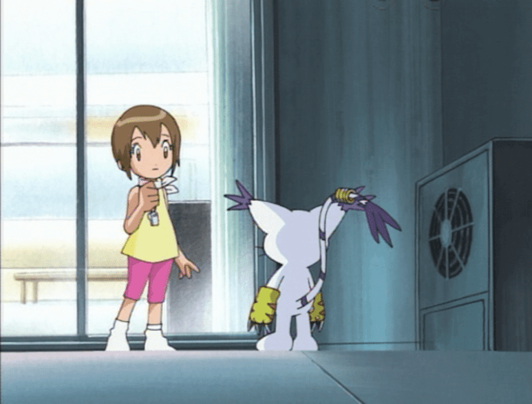 Still from Digimon Adventure episode The Eighth Child Revealed